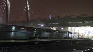 Amtrak 466 pulls the Empire Builder into Milwaukee, WI