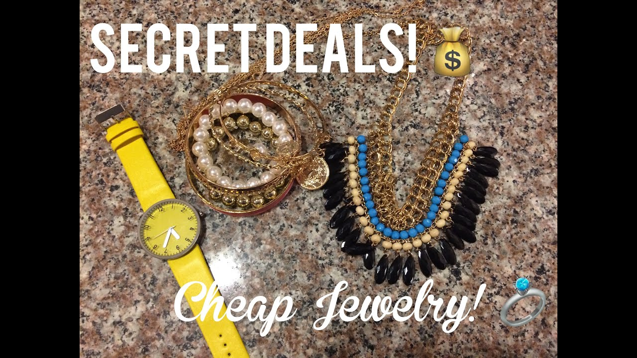 Amazon secret deals super cheap jewelry frugal gift for Super cheap gift ideas