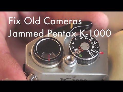 Fix Old Cameras: Pentax K-1000 Jammed Film Transport
