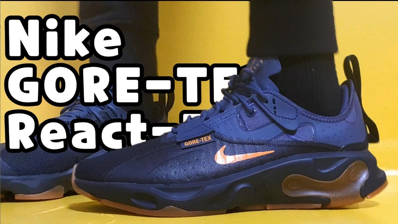 NIKE React Type Gore Tex unboxingnike react type gore tex sizing review