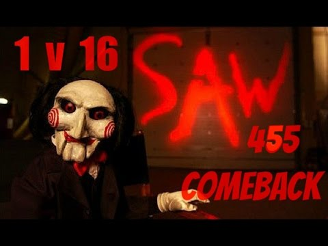 1 VS 16 Last Man Standing (Saw 455/SUB) - The Last of us:  multijugador (Terminal De Autobus)