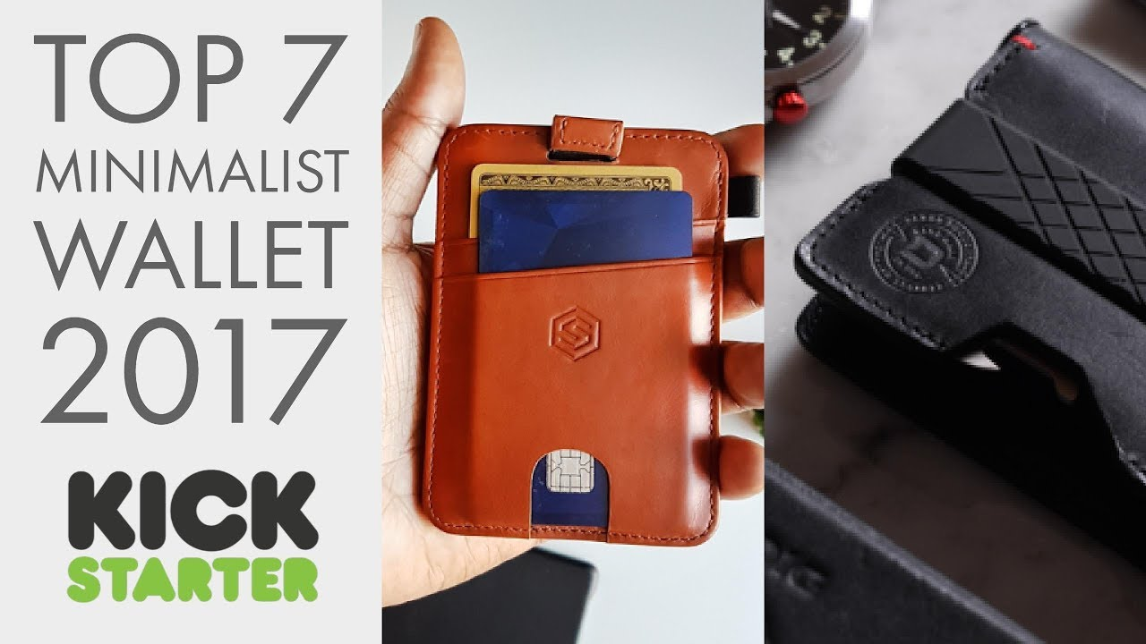 Top 7 Best Minimalist Wallet 2019 Functional Stylish Secure