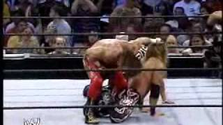 WWE Smackdown - Chris Benoit & Eddie Guerrero vs. The Rock & Edge