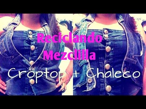 Croptop de Mezclilla + Chaleco| Gitcoh