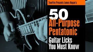 Pentatonic Licks - #23 Dear John - Guitar Lesson - James Hogan
