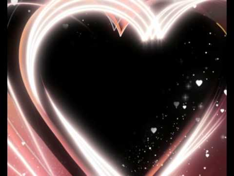 Valentines Day Falling Hearts Background Video Clip Motion Graphic ...