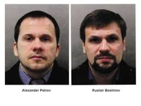 Salisbury Novichok poisoning: Two Russian nationals named as suspects!