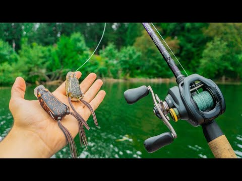 FROG FISHING SECRET HACKS TO CATCH 10X MORE FISH! (BEST FROG TIPS)