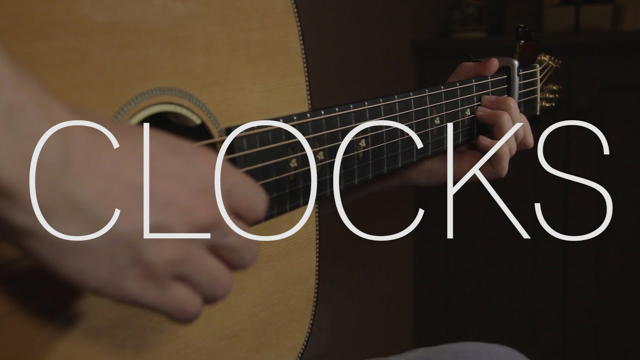 Coldplay Clocks Fingerstyle Guitar Cover Free Tabs Chords