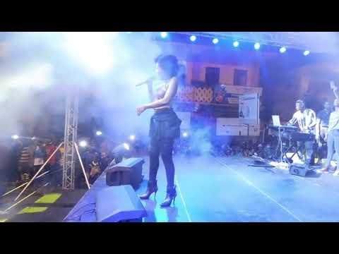 Mzvee performs  kuami Eugene_Confusion  at Takoradi health concert