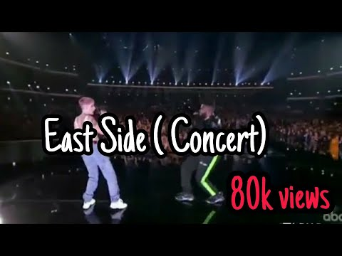 East side.  Concert AMAS 2018 . 11/10/2018 Halsey & Khalid & Benny blanco