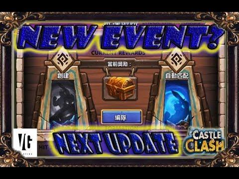 Castle Clash Update Next Event??