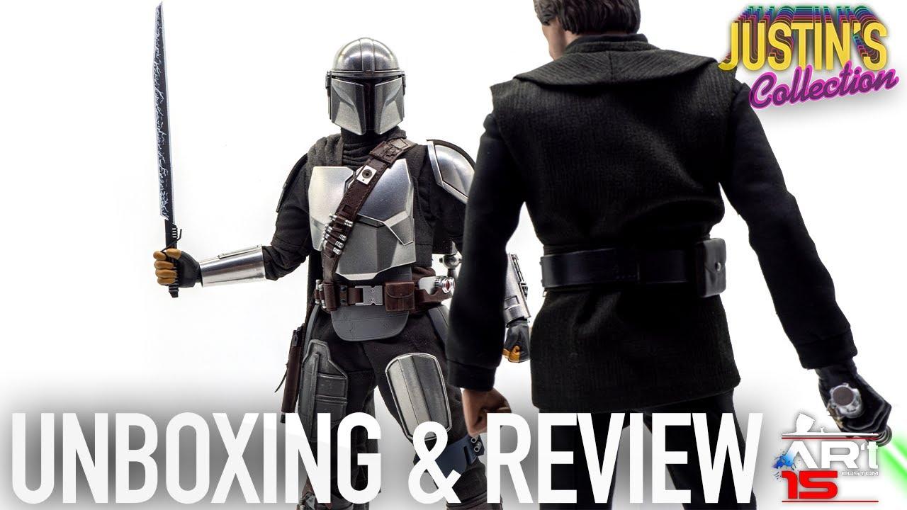 Hot Toys Mandalorian Season 2 Beskar Armor Kit Art 15 Custom Unboxing & Review