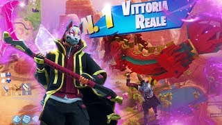"VITTORIA REALE with the NUOVA Skin ""ALLA DERIVA""! Fortnite Battle Royale - Stagione 5 ITA"