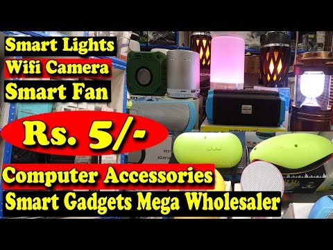 Smart Gadgets Mega Wholesaler In India | Smart Lights, Wifi Camera, Speakers, Cheapet Price Gadgets