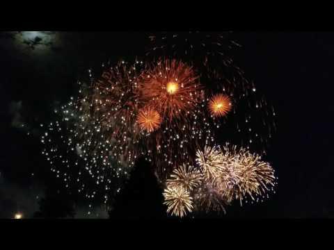 Burlington Vermont fireworks  2017