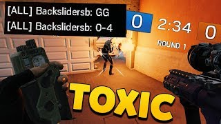 The Most TOXIC Player In Rainbow Six Siege History