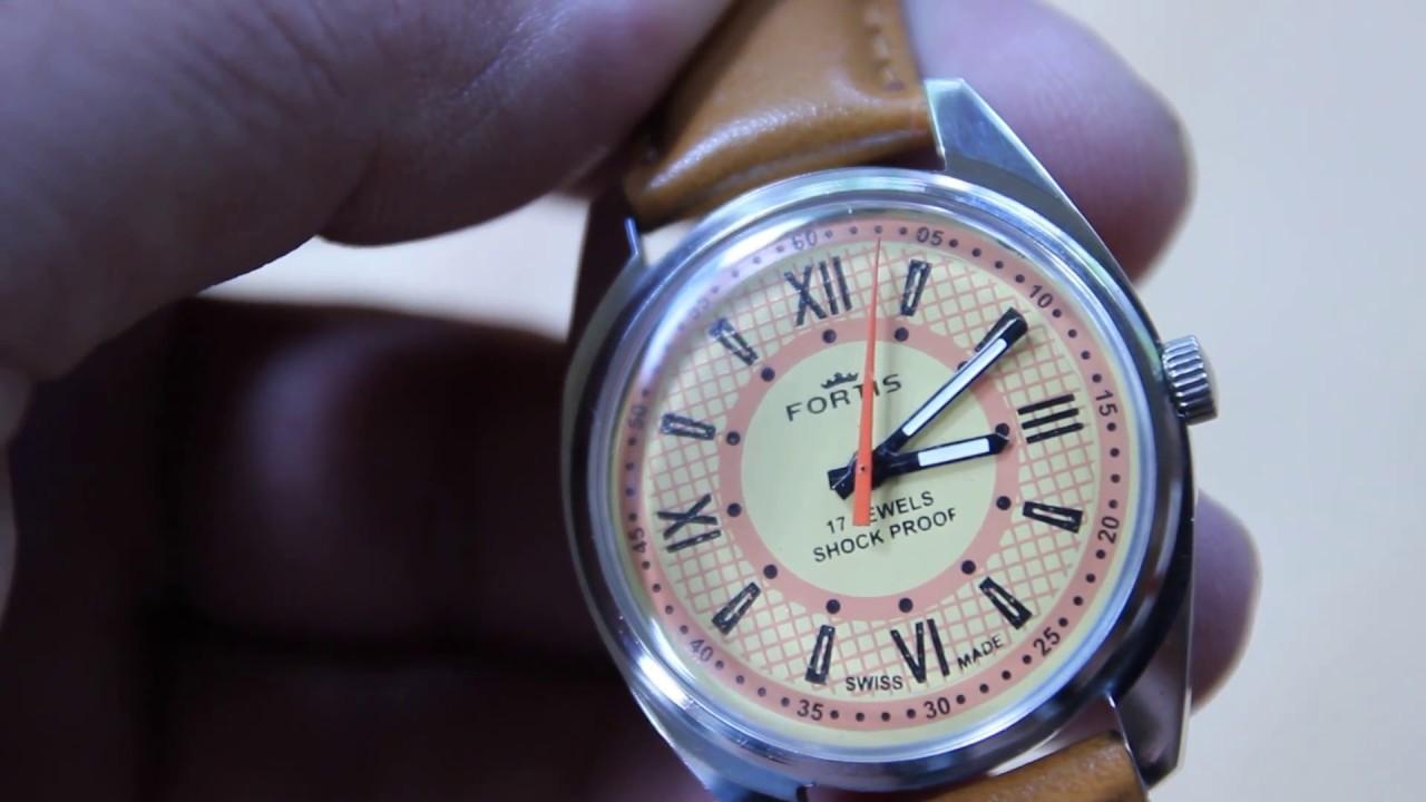 117e0341b93 Relógio Fortis Suiço a corda no Mercado Livre - YouTube