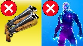 RAREST Skin in Fortnite, Double Barrel Shotgun NERFED, Grappling Hook (PATCH NOTES) Chaos