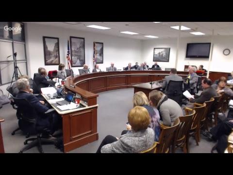 Revenue Committee Meeting - Wednesday 11-28-18