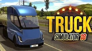 ***TRUCK SIMULATOR 2018 : EUROPE***....... THE GRAPHICS GAME ......IN 100 MB ..