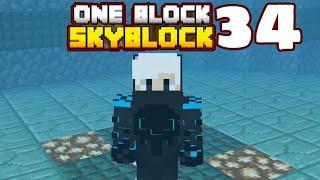 Minecraft Pe - Gameplay One Block SkyBlock - Part 34