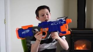 nerf hyper fire: unboxing and review