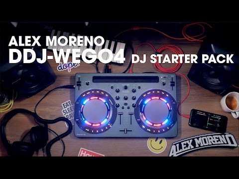 Testing out Pioneer DJ DDJ-WeGO4 with WeDJ app
