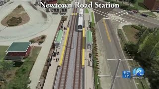 Light rail extension projected to cost $243M, according to HRT estimates