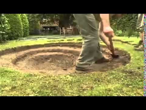Build Your Own Pond In Your Garden!!   YouTube