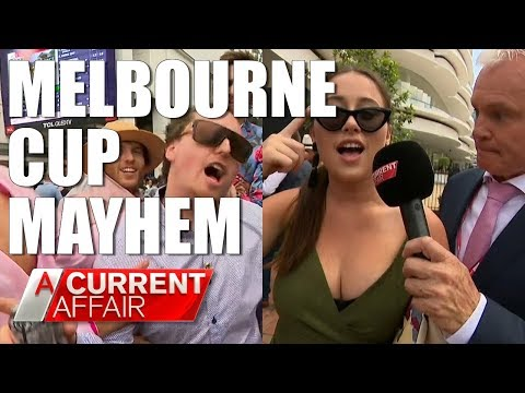 Melbourne Cup Mayhem | A Current Affair Australia