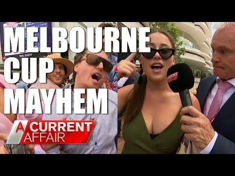Melbourne Cup Mayhem | A Current Affair Australia