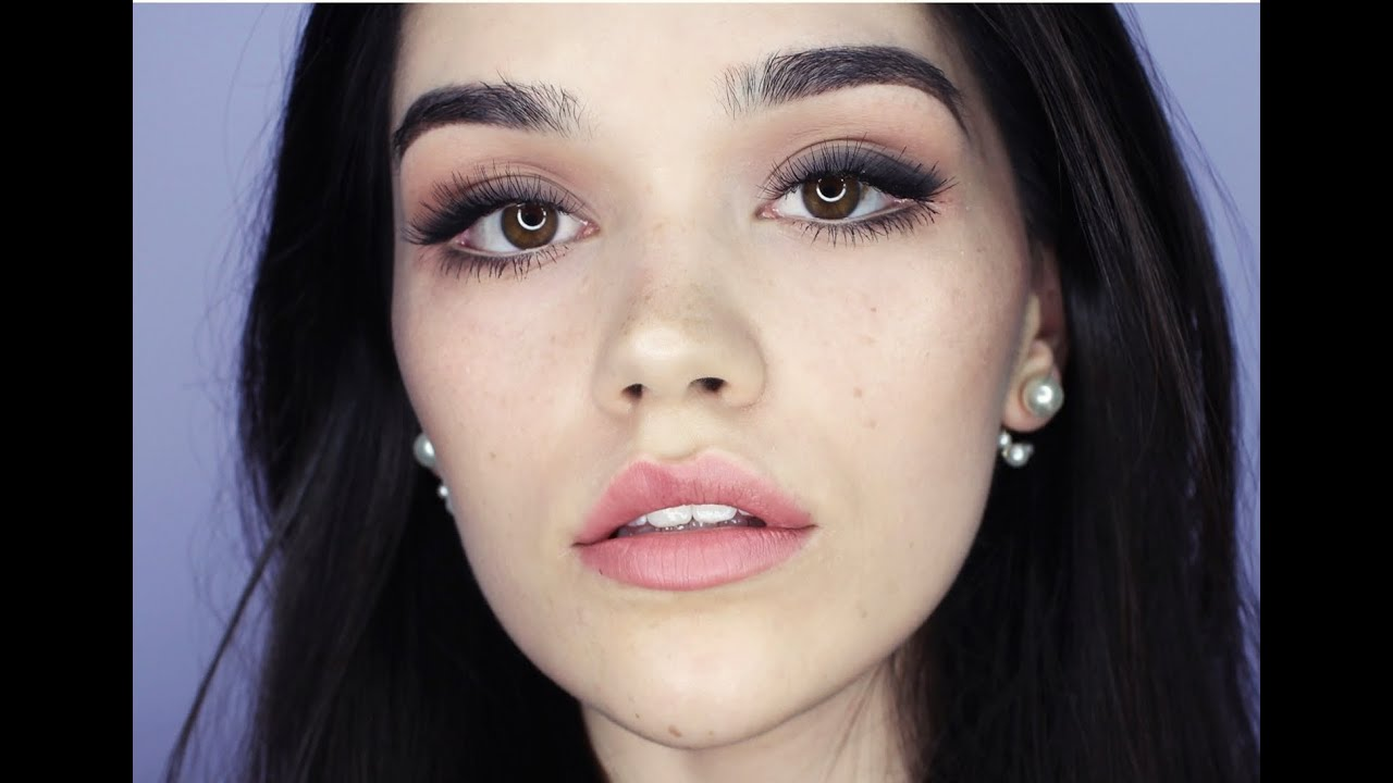 Soft Prom makeup - YouTube