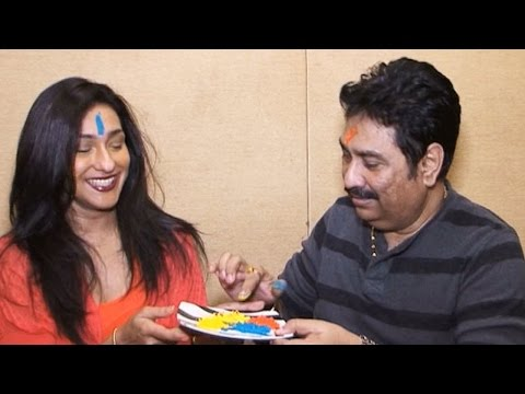 Holi 2016! Rituparna Sengupta & Kumar Sanu Exclusive Interview