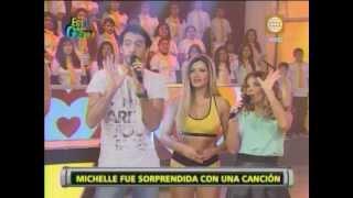 Esto es Guerra: Michelle recibe sorpresa de admirador secreto - 18/06/2013