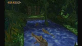 Pitfall: The Big Adventure (Wii) -- Gameplay (start of game)