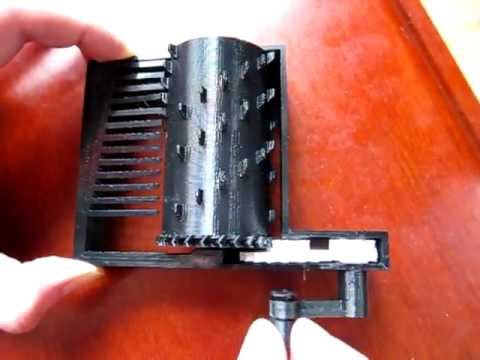 Fully 3D printed Music Box: Iteration 2
