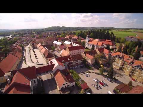 Ormož in Runeč iz zraka - Quadcopter Slovenija