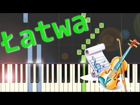 🎹 River Flows in You (Yiruma) - Piano Tutorial (łatwa wersja) (EASY) 🎹