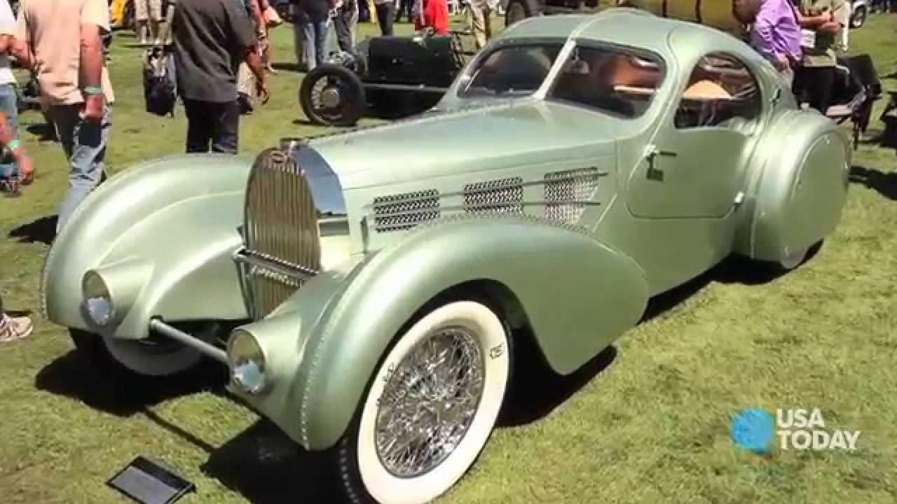 a stunning 1935 bugatti -- in magnesium - youtube