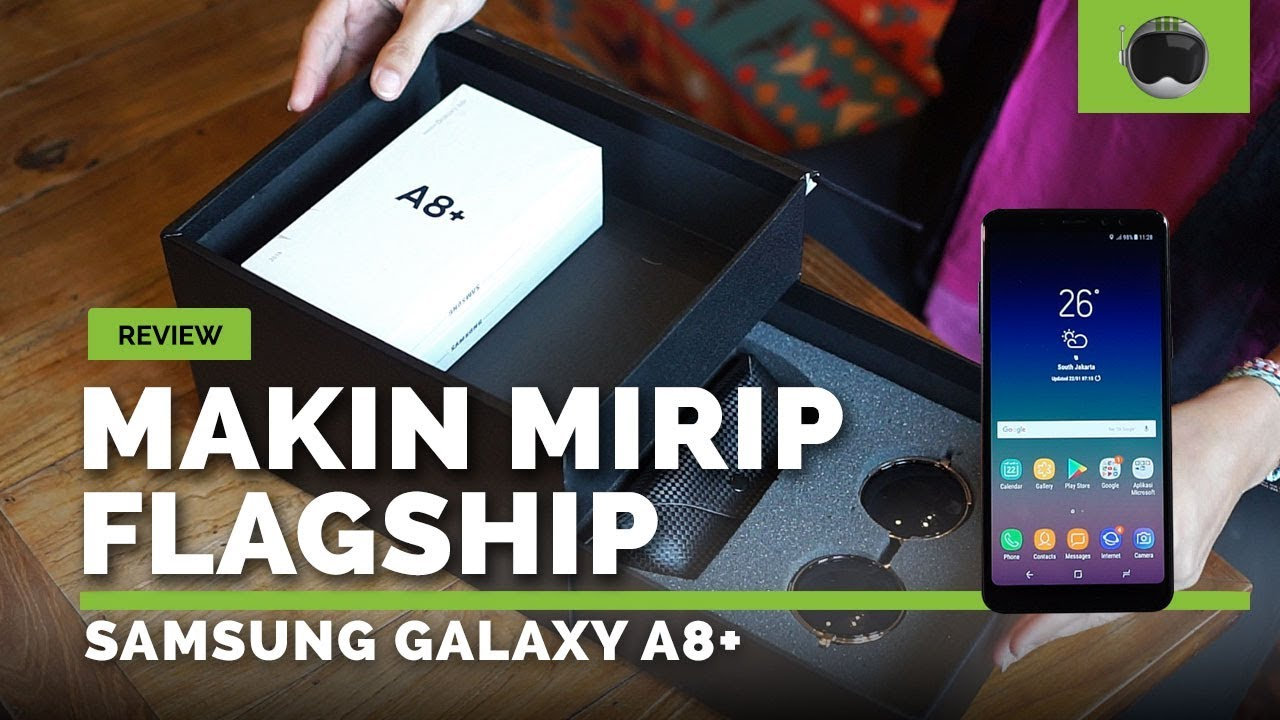 Review Samsung Galaxy A8 2018 Indonesia Youtube