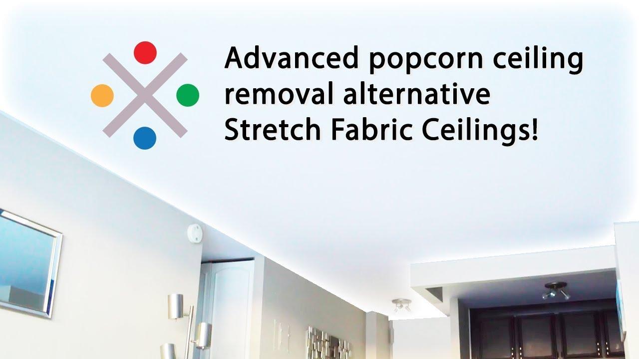 Advanced popcorn ceiling removal alternative Stretch