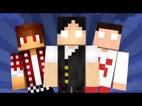 Minecraft Reverso #1: NOVA SÉRIE COM YOUTUBERS REVERSOS!!!