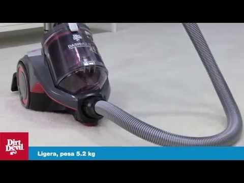 DashMulti - Aspiradora Canister Dirt Devil Multisuperficies Modelo SD40050