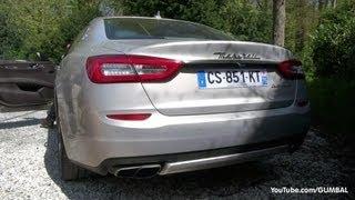 2014 Maserati Quattroporte - V8 Sport Exhaust Sound!