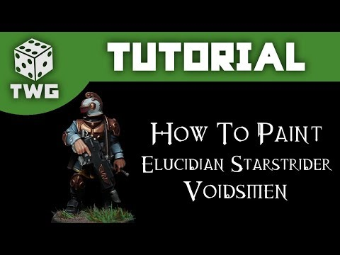 How To Paint Rogue Trader Voidsmen: Warhammer 40k Kill Team Tutorial