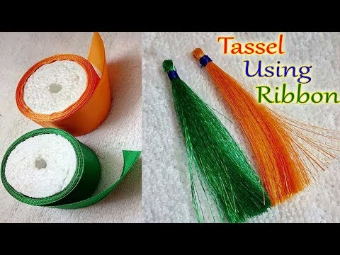 DIY - Easy to Make a Earring Using Ribbon Pearls | Make a Jewellery At Home | Jewellery Making