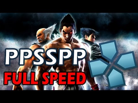 TEKKEN 6 - PPSSPP FULL SPEED SETTINGS / Configuration (PC, Android, IOS)