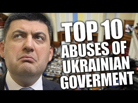 Top-10 abuses of ukrainian government. Ukraine News