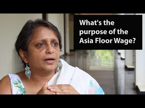 What is the purpose of the Asia Floor Wage?